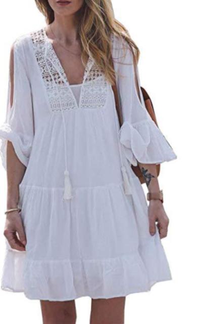 CutieLove Crochet Beach Dress