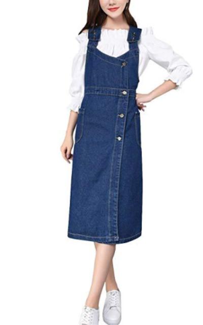 D.B.M Overall Dress