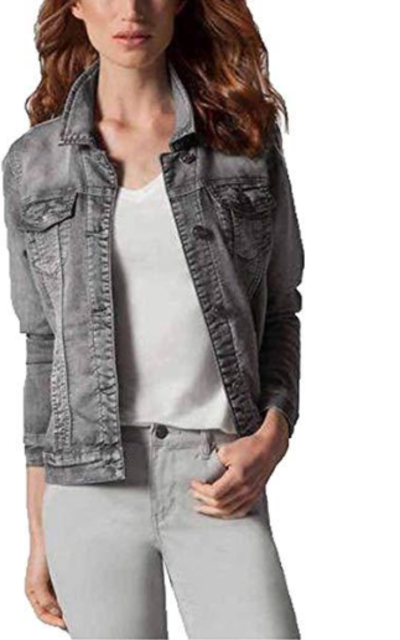 Buffalo David BittonStretch Denim Jacket