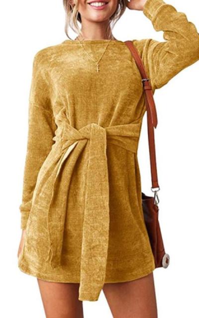 Faisean Bodycon Velvet Dress