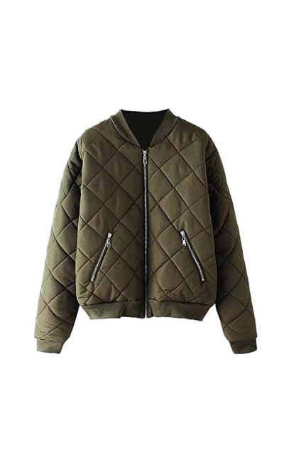 Escalier Quilted Bomber Jacket