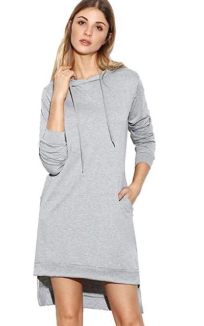 SweatyRocks Sweatshirt Dress