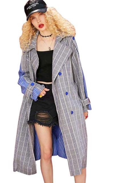 Elf Sack Trench Coat