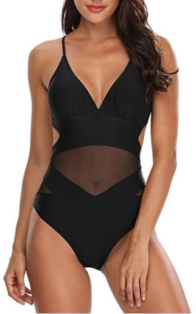 Holipick Cutout Swimsuit