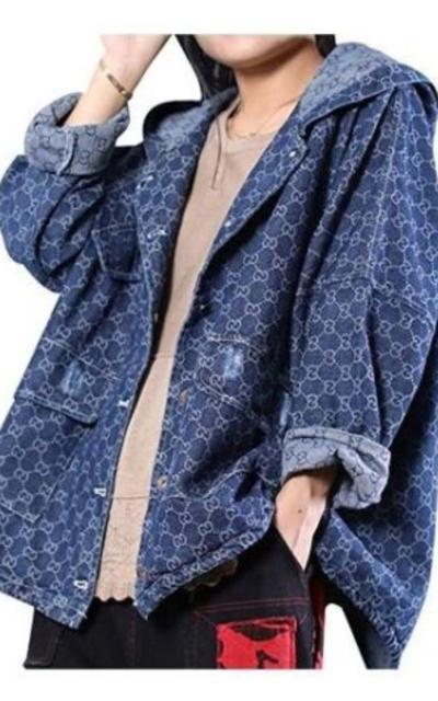 YESNO Oversized Denim Jacket