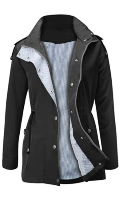 Waterproof Lightweight Rain Jacket