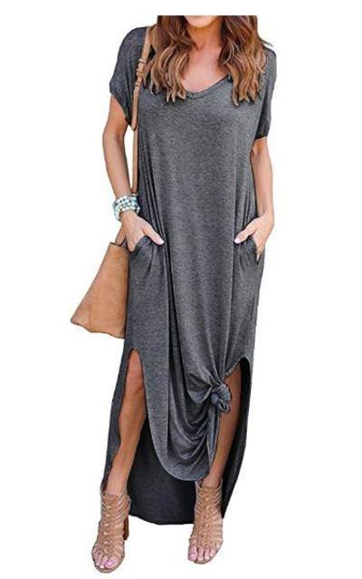 Pocket Long Dress