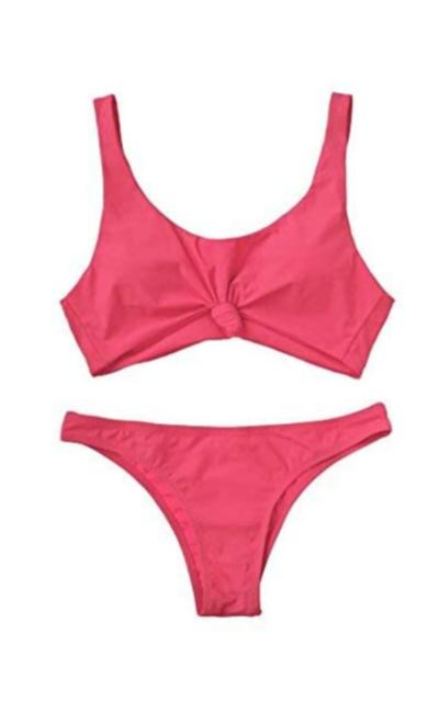 ZAFUL Scoop Knotted Bikini