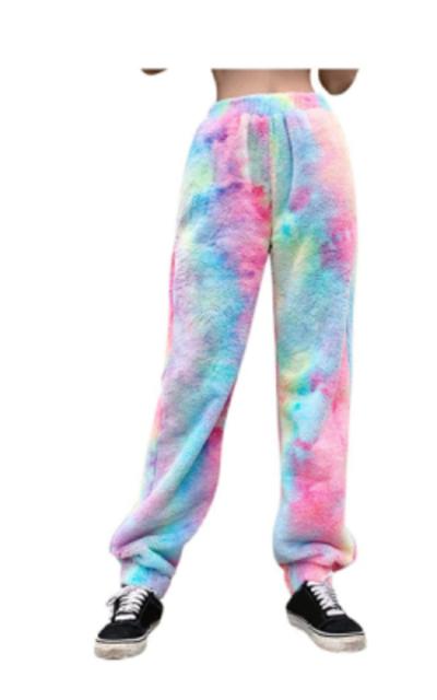 Mikilon Tie Dye Winter Fleece Pants
