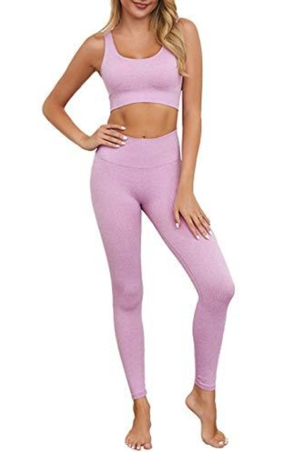 OLCHEE 2 Piece Tracksuit Workout Outfits