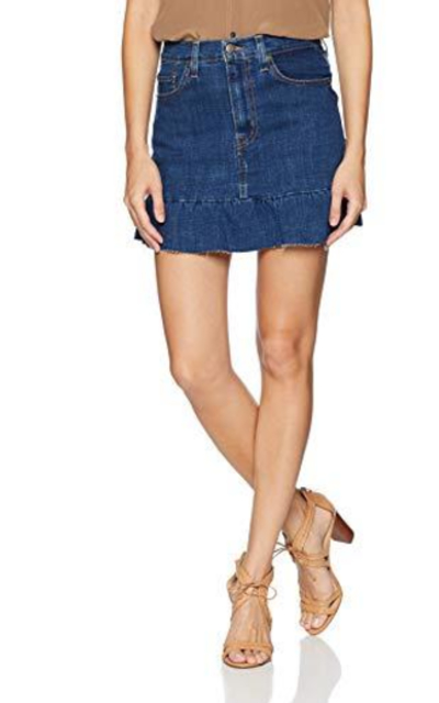 Levi's Ruffle Skirt