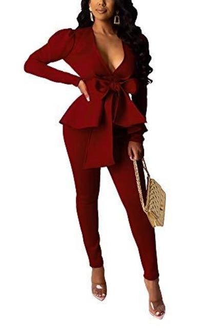 2 Piece Blazer Suit