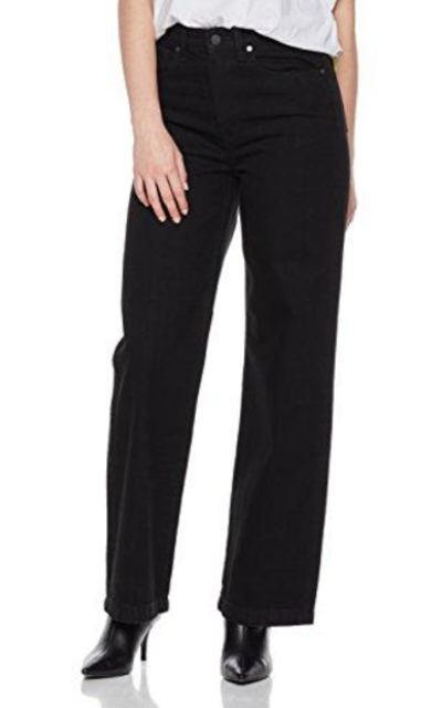 HALE Valerie High Rise Wide Leg Trouser Jean