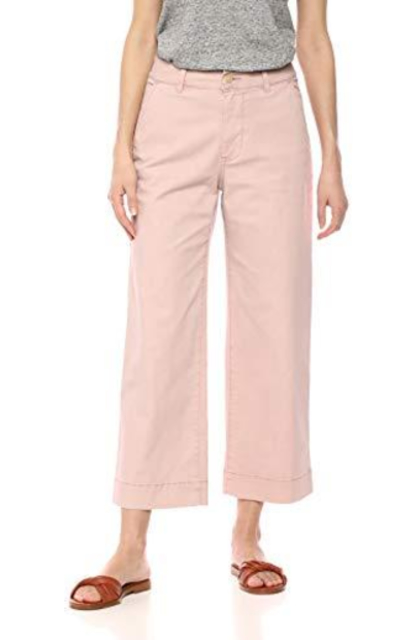 Amazon Brand - Daily Ritual Washed Chino Wide Leg Pant