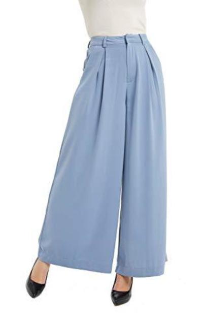 Tronjori High Waist Wide Leg Pants