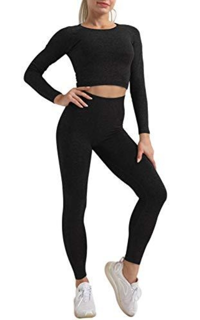 OLCHEE 2 Piece Tracksuit Workout Outfit