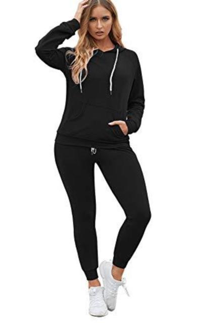 Fixmatti Hoody Pullover 2PCS Sweatsuit