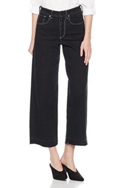HALE Ellis High Rise Culotte Jeans