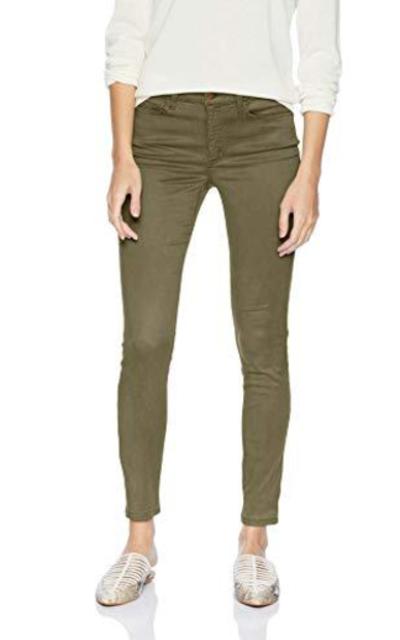Amazon Brand - Daily Ritual Sateen 5-Pocket Skinny Pant