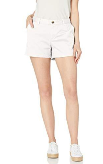 "Amazon Essentials 3.5"" Inseam Solid Chino Shorts"