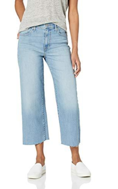 Levi's Mile High Wide Leg Crop Jeans