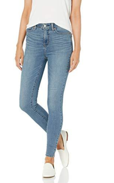 Signature by Levi Strauss & Co. Gold Label  Totally Shaping High Rise Skinny Jeans