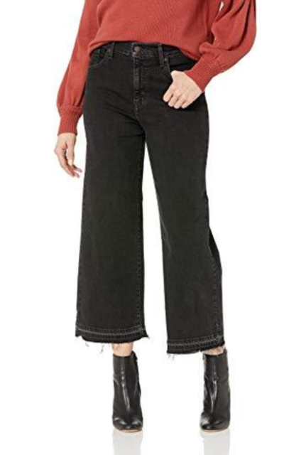 Levi's Women's Mile High Wide Leg Crop Jeans