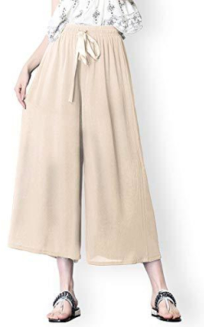 Brighter Threads Elastic Waist Culottes