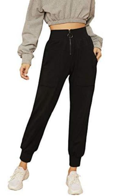 SweatyRocks Drawstring Sport Pants