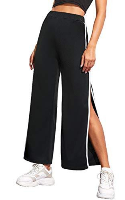 WDIRARA Split Side Long Pants