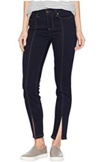 Liverpool Abby Ankle Front Slit Jeans