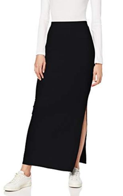 MERAKI Standard Rib Maxi Skirt