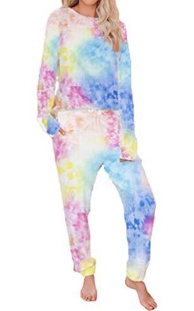 Aoang Tie Dye Loungewear Set