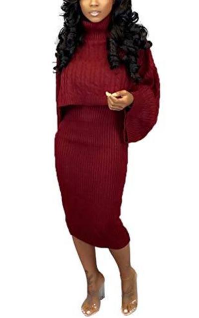 Womens 2 Piece Sweater Dresses