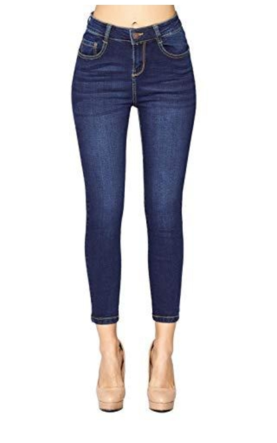 Blue Age Butt-Lifting High Rise Skinny Jeans