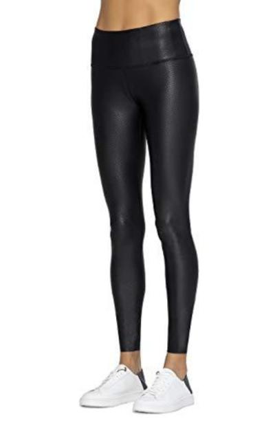 AJISAI Fashion Faux Leather Leggings