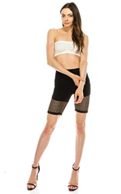 The Classic Capri Length See Through Slim Fit Leggings