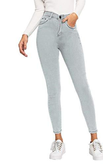 SOLY HUX High Waist Skinny Stretch Jeans