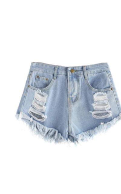 SweatyRocks Jean Shorts