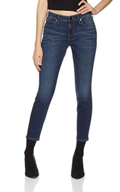 HALE Layla Stunner Mid Rise Skinny Crop Jeans