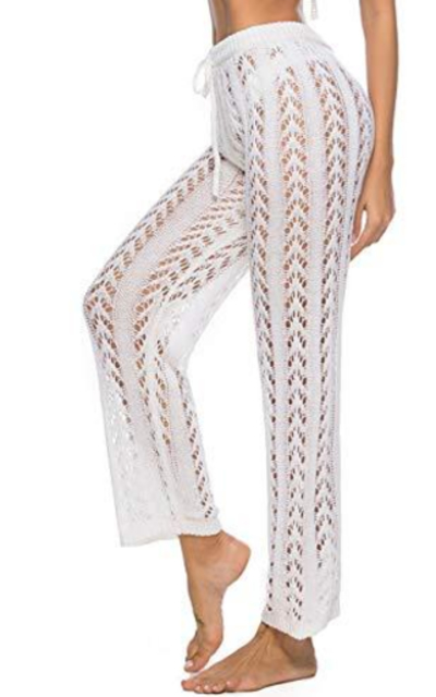 Kistore Crochet Cover Up Pants