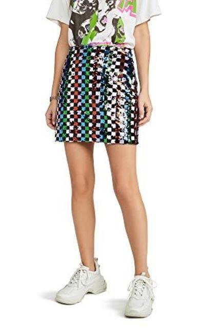 endless rose Multi Sequin Mini Skirt