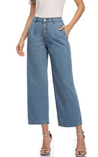 Wudodo High Waisted Jeans