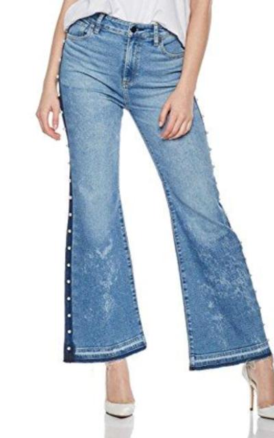 HALE  Elena Pearl Studded Jean