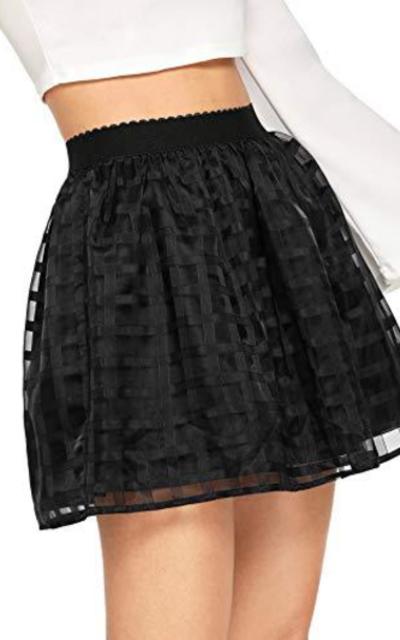 WDIRARA Casual Midi Skirt