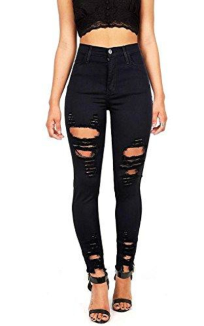 Vibrant High Rise Jeans