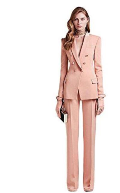 Blush Peak Business Suit