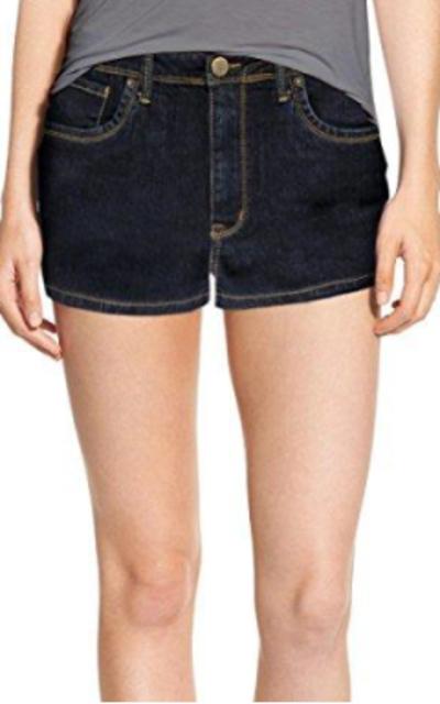 Classic Comfy 5 Pockets Denim Shorts