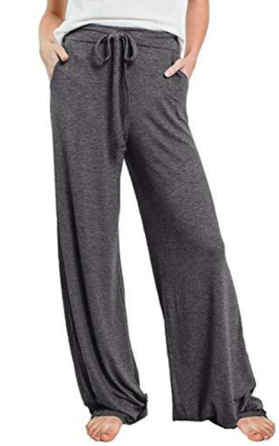 PRETTYGARDEN Drawstring Waist Stretchy Lounge Pants