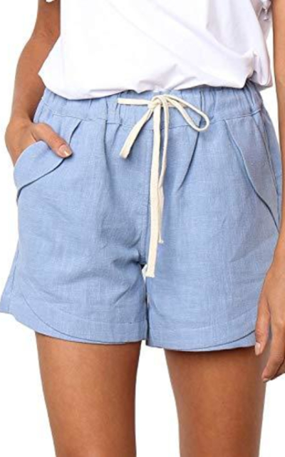 Dokotoo Linen Shorts
